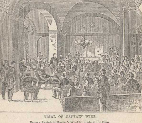 Wirz Trial (http://www.gutenberg.org/files/3072/3072-h/3072-h.htm#p642)