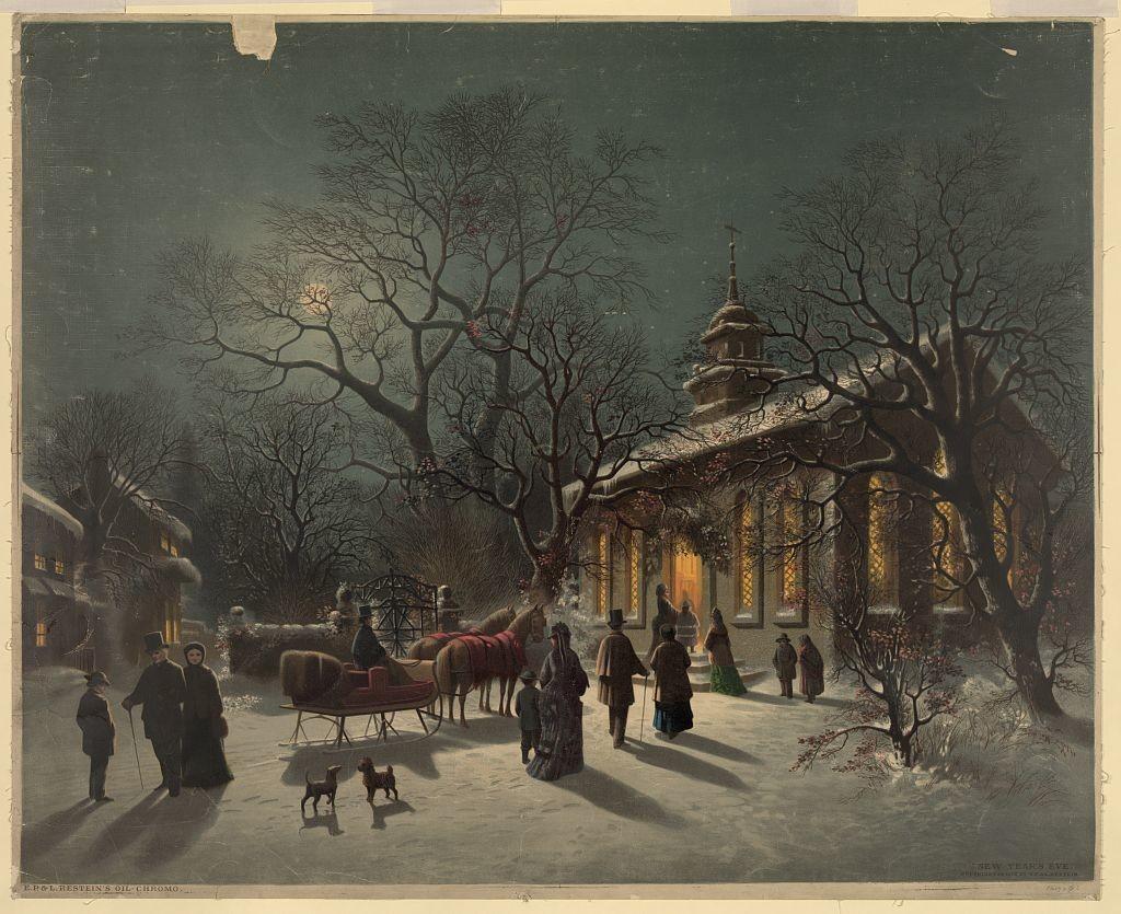 New Year's Eve (c.1876; LOC: http://www.loc.gov/item/2003677747/)