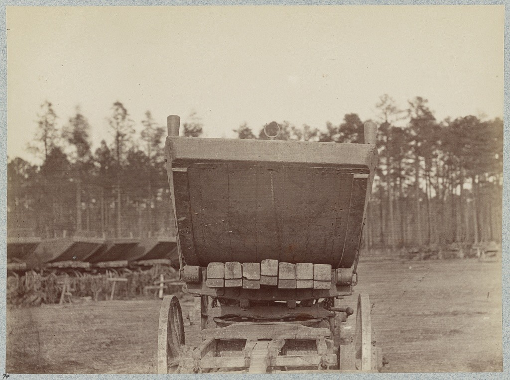 Pontoon wagon and boat, 50th New York Engineers, Rappahannock Station, Va., March, 1864 (LOC: http://www.loc.gov/item/2012649812/)