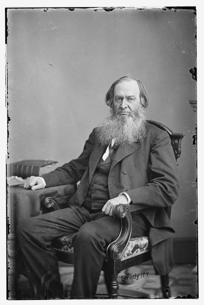 Hon. Gerrit Smith of N.Y. (between 1855 and 1865; LOC: http://www.loc.gov/pictures/item/brh2003004625/PP/)