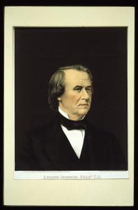 Andrew Johnson, Prest. U.S. / printed in oil colors, by Bingham & Dodd, Hartford, Conn. (c.1866; LOC: https://www.loc.gov/item/2004671507/)