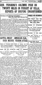 NY Times March 17, 1916