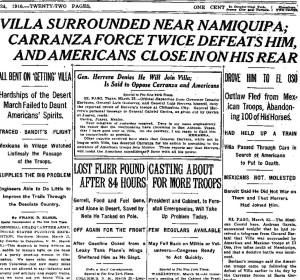NY Times March 24, 1916
