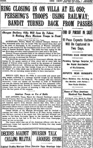 NY Times March 25, 1916