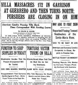 NY Times March 31, 1916