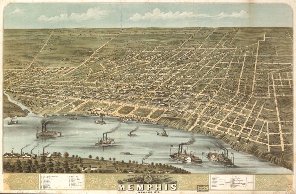Memphis 1870 (LOC: https://www.loc.gov/item/73694530/)