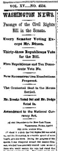 NY Times April 7, 1866