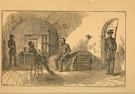 Jeff. Davis in prison(catalog.hathitrustorgRecord006540127)(Prison life of Jefferson Davis. 1866)