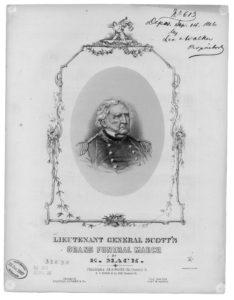 Lieutenant General Scott's grand funeral march (1866; LOC: https://www.loc.gov/item/ihas.200000292/)