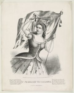 Freedom to Ireland (New York : Published by Currier & Ives, c1866; LOC: http://www.loc.gov/pictures/item/2001699752/)