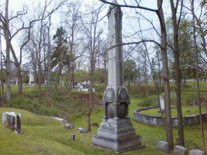 Johnson column - Restvale Cemetery May 15, 2016
