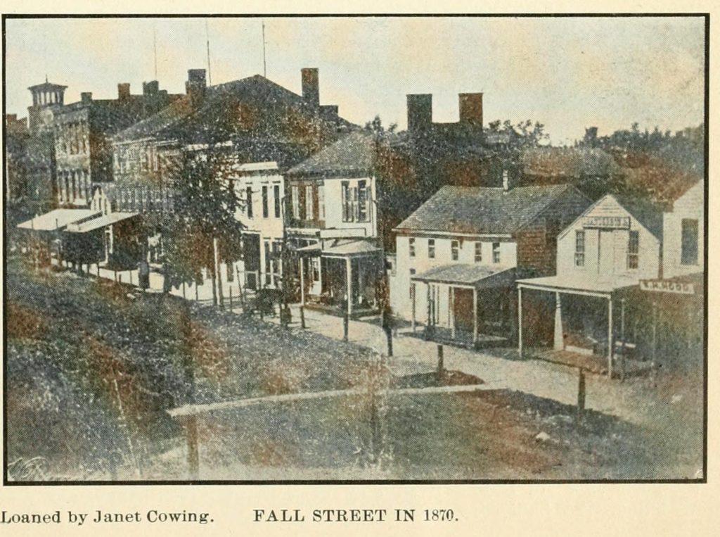 Fall Street, Seneca Falls, NY 1870