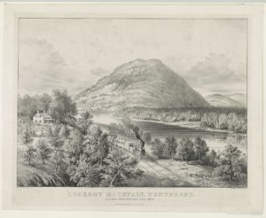 Lookout Mountain, Tennessee: and the Chattanooga Rail Road (About this Item  Title     Lookout Mountain, Tennessee: and the Chattanooga Rail Road Contributor Names     Currier & Ives.  Created / Published     New York : Published by Currier & Ives, c1866; LOC: https://www.loc.gov/item/2002709955/)