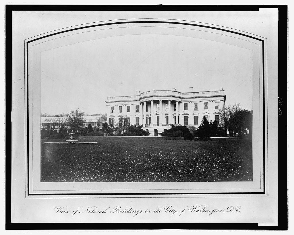 President's house (ca. 1866; LOC: https://www.loc.gov/item/2006679469/)