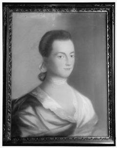 Portrait of Abigail Adams by Benjamin Blyth (Portrait of Abigail Adams by Benjamin Blyth; LOC: https://www.loc.gov/item/hec2009000215/)
