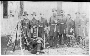 Gen'l. John W. Geary and staff - taken at Harper's Ferry (between 1860 and 1870; LOC: https://www.loc.gov/item/98506791/)
