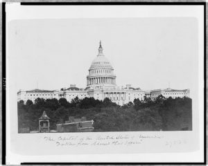 The Capitol of the United States of America: taken from Adams & Co's Office (c1865.; LOC: https://www.loc.gov/item/97517392/)