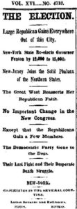 Republican roll on (NY Times, November 8, 1866