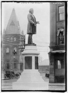 Statue of Fred. Douglass (LOC: https://www.loc.gov/item/ggb2006013463/(