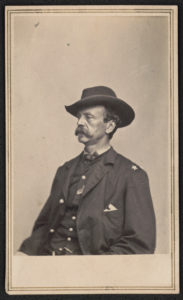 Major General Daniel Edgar Sickles of 70th New York Infantry Regiment and General Staff U.S. Volunteers Infantry Regiment in uniform] / From negative in Brady's National Portrait Gallery (LOC: https://www.loc.gov/item/2016646188/)