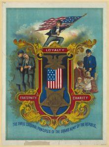 The three cardinal principles of the grand army of the republic (c1884; LOC: https://www.loc.gov/item/2003670397/)