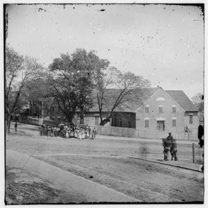 [Richmond, Va. First African Church (Broad Street)] (1865; LOC: https://www.loc.gov/item/cwp1994000694/pp/)
