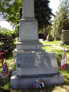 Grave_Jeb_Stuart_Flora_Stuart (https://en.wikipedia.org/wiki/File:Grave_Jeb_Stuart_Flora_Stuart.jpg)