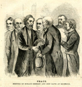Peace_Meeting_of_Horace_Greeley_and_Jeff_Davis_at_Richmond1 (Harper's Weekly June 1, 1867; http://dig.library.vcu.edu/cdm/ref/collection/rpr/id/77)