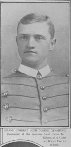 General Pershing as Cadet (NY Times June 17, 1917; https://www.loc.gov/resource/sn78004456/1917-06-17/ed-1/?q=june%2017%201917&st=gallery image 6)