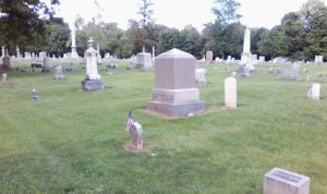 Weatherlow gravesite, Restvale Cemetery, Seneca Falls, New York July 2, 2017