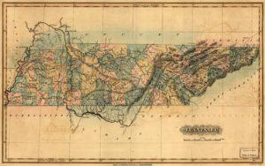 Tennessee. ([S.l.], 1826.; LOC: https://www.loc.gov/item/2003627038/)