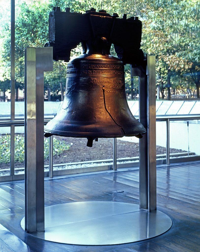The Liberty Bell, Philadelphia, Pennsylvania (by Carol M. Highsmith; LOC: https://www.loc.gov/item/2011636175/)
