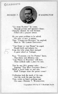 Booker T. Washington. by R. V. Randolph. Seattle, 1913. (LOC: https://www.loc.gov/item/rbpe.1890020a/?q=booker+t+washington)