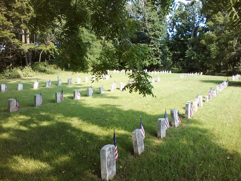 Willard cemetery, Civil war veterans section August 20, 20170820171004-00