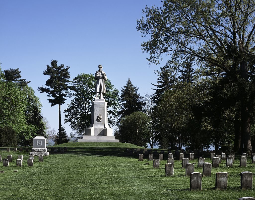 Private soldier monument, Antietam Battlefield, near Sharpsburg, Maryland (by Carol M. Highsmith, LOC: https://www.loc.gov/item/2011630686/)