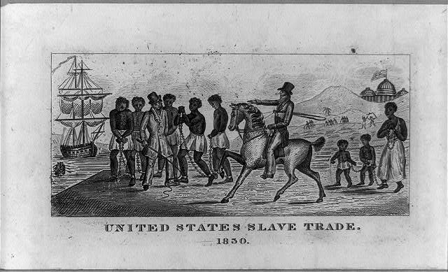 United States slave trade, 1830 (LOC: https://www.loc.gov/item/2008661746/)