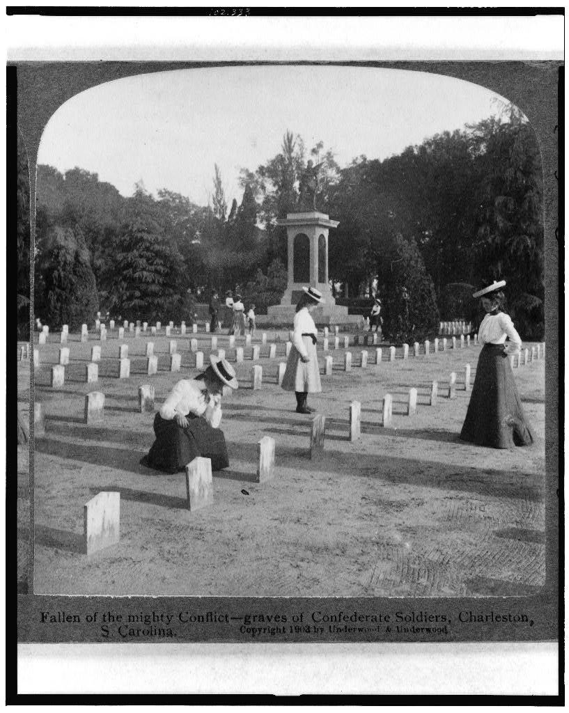 Fallen of the mighty conflict--graves of Confederate soldiers, Charleston, S. Carolina (1903; LOC: https://www.loc.gov/item/91705340/)