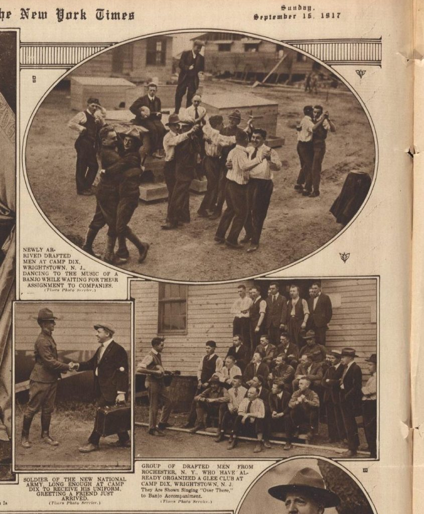 NYT 9-16-1917 glee club LOC: https://www.loc.gov/resource/sn78004456/1917-09-16/ed-1/?q=september+16+1917&st=gallery)