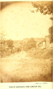 Sharpsburg from Cemetery Hill (1869 http://hdl.handle.net/2027/loc.ark:/13960/t5v69w18g)