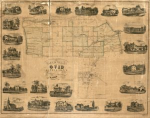 Town & village of Ovid, Seneca Co., N.Y. (1858; LOC: https://www.loc.gov/item/2010593268/)