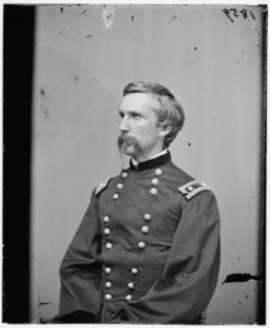 Portrait of Maj. Gen. (as of Mar. 29, 1865) Joshua L. Chamberlain, officer of the Federal Army (1865; LOC: https://www.loc.gov/item/cwp2003000297/PP/)