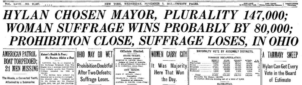 NY Times 11-7-1917
