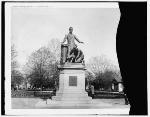 Emancipation statue, Washington, D.C. (between 1901 and 1906; LOC: https://www.loc.gov/item/2016798909/)
