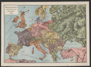 Momentaufnahme von Europa und Halbasien 1914 / W. Kaspar fec. (Hamburg : Lith. Druck u. Verlag von Graht & Kaspar, Hamburg 6. 1. 7788, [1915?]; LOC: https://www.loc.gov/item/2014648402/)