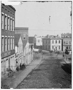 Atlanta, Georgia. View on Whitehall Street (1864; LOC: https://www.loc.gov/item/cwp2003005001/PP/)