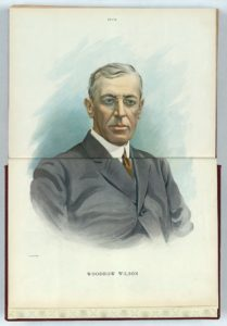 Woodrow Wilson / Keppler. ( Illus. in: Puck, v. 72, no. 1847 (1912 July 24), centerfold.; LOC: https://www.loc.gov/item/2011649367/)