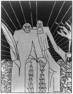 Propheten einer neuen Welt (1918 from German newspaper; LOC: https://www.loc.gov/item/2009631633/)