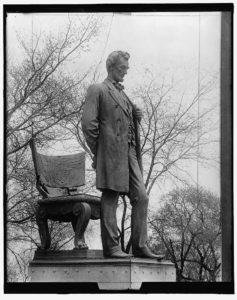 Lincoln statue, bronze (LOC: https://www.loc.gov/item/2016817228/)