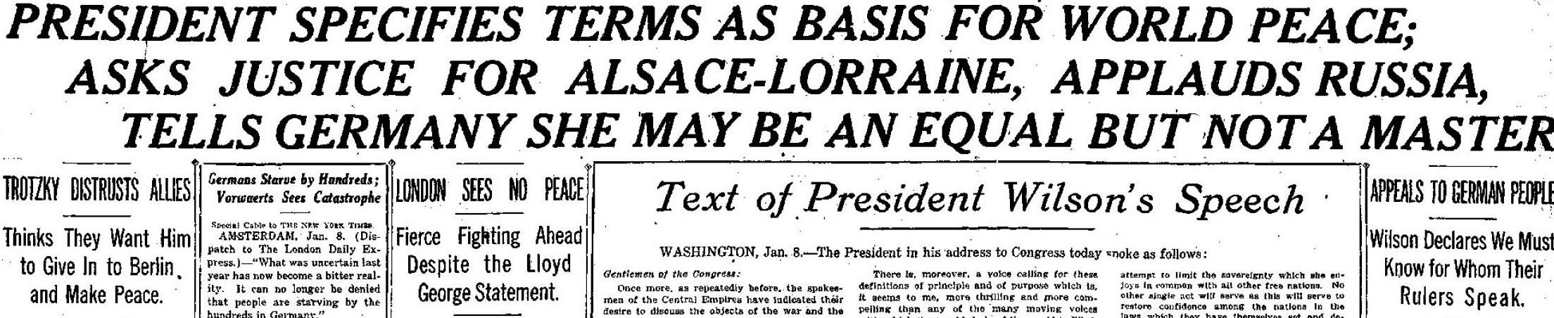 NY Times January 9, 1918