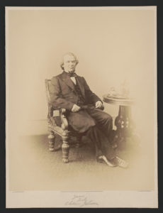 Portrait of Andrew Johnson / A. Gardner, photographer, 511 Seventh Street, Washington. ([1866]; LOC: https://www.loc.gov/item/2002736311/)
